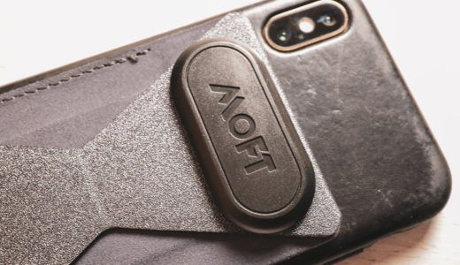 MOFT X iPhone XS につけてみた